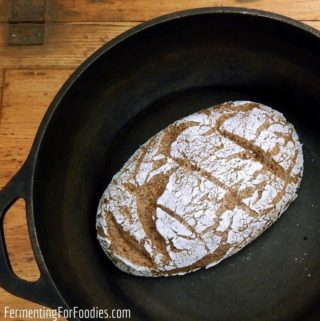 Delicious, slow-rise gluten-free and vegan sourdough bread