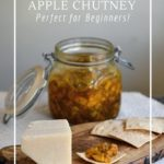 Fermentation is a great way to preserve apple chutney.