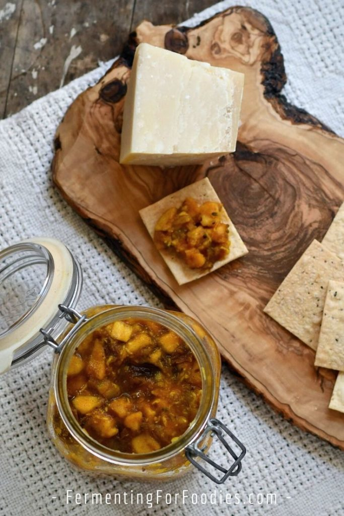 This simple apple chutney is date sweetened and refined sugar-free!