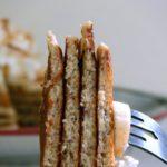 Overnight buttermilk pancakes for an easy breakfast option.