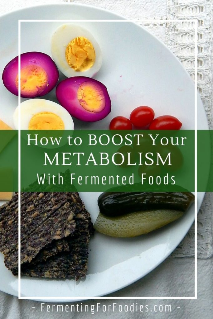 A metabolism boosting diet that is high fiber, high protein and full of probiotics.