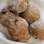 Amazing gluten free sourdough buns, perfect for hot dogs, hamburgers and sandwiches