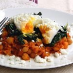 Simple and delicious Turkish chickpea stew is a healthy and grain free breakfast option.