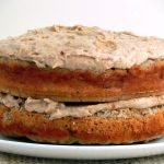 Delicious sugar-free banana cake taste like banoffee pie