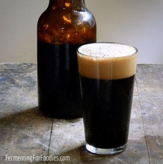 Delicious oatmeal stout with chocolate, coffee, spice or vanilla