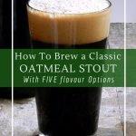 Homemade espresso oatmeal stout recipe