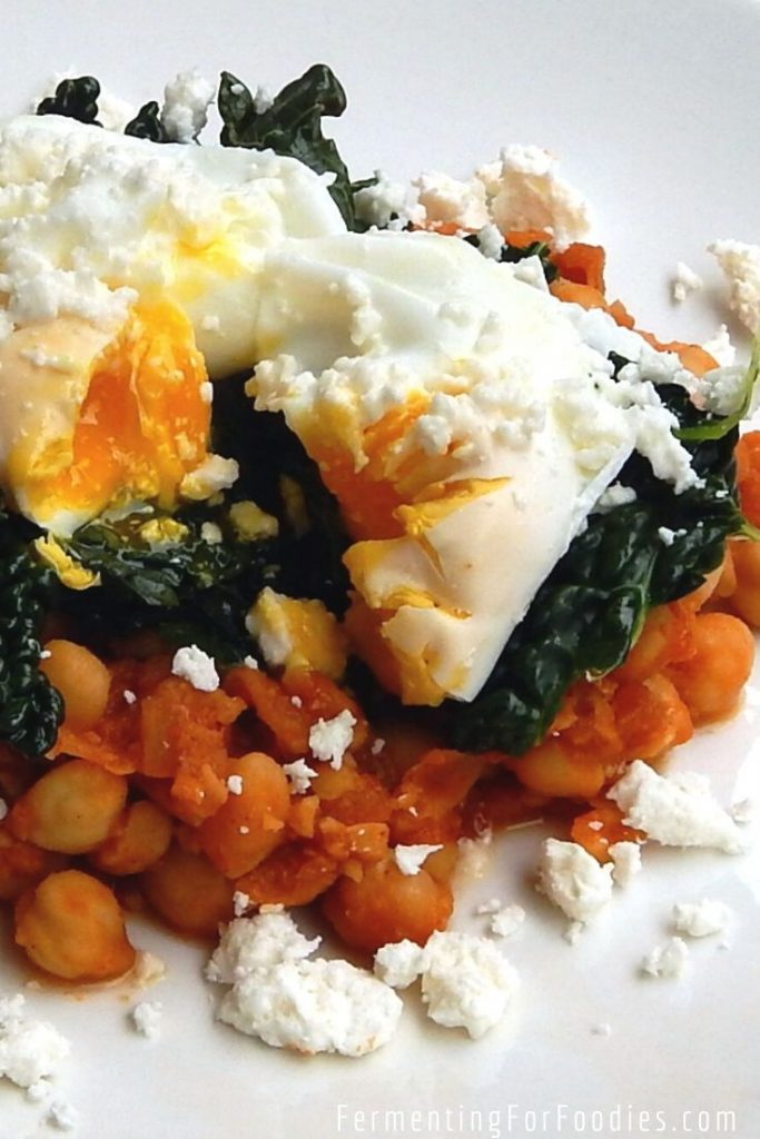 Turkish chickpea stew is a grain-free breakfast option that is full of flavour