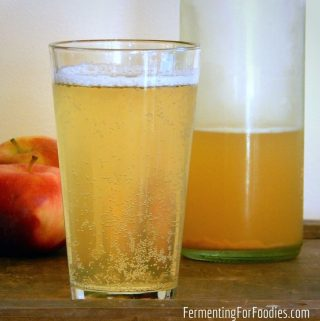 How to make simple homemade hard apple cider from store-bought apple juice