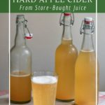 Homemade hard apple cider recipe - perfect for beginners
