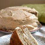 How to make a banana and date sweetened coffee cake, vanilla layer cake, chocolate cake or strawberry cake