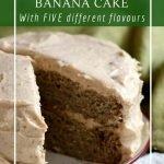 Gluten-free, healthy and sugar-free banana cake