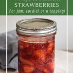 Fermented strawberries are a gluten-free, vegan, probiotic and low sugar alternative to jam