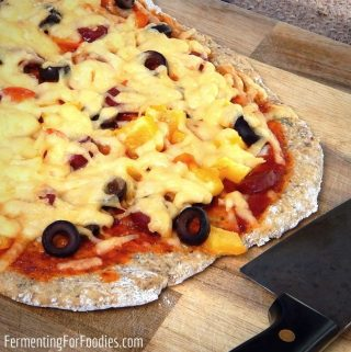 Homemade gluten-free pizza dough so much tastier than store-bought or take-out
