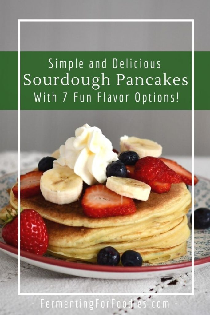 How to make sourdough pancakes using sourdough discard