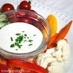 Get your kids to eat their vegetables with this creamy and delicious dip