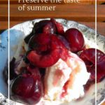 Fermented berries, the simplest way to preserve summer fruit, including blueberries, raspberries and cherries.