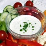 A creamy yogurt dip - perfect for vegetables, chips, sandwiches and salad dressing