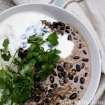 Vegetarian korma with yogurt for a probiotic boost at dinner