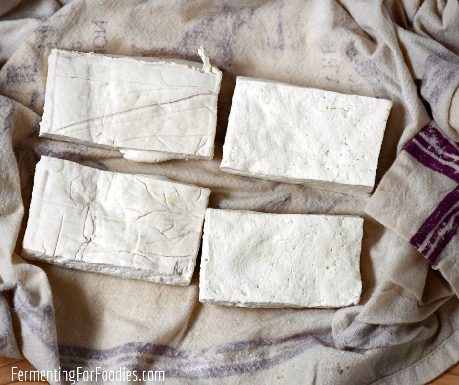 Tofu misozuke is a creamy tofu cheese miso fermented