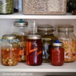 How I store my ferments in my tiny urban home.