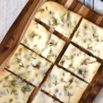 How to make focaccia with sourdough starter and quick yeast