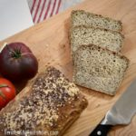 Healthy and delicious gluten-free sandwich bread is high in fiber, lower in carbs.