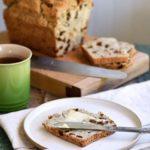 Gluten-free sourdough raisin bread is perfect for breakfast or with tea!