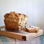 Gluten-free Barmbrack is a traditional Irish raisin bread.