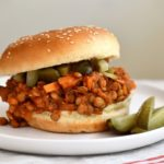 How to make a probiotic lentil sloppy joes with fermented vegetables